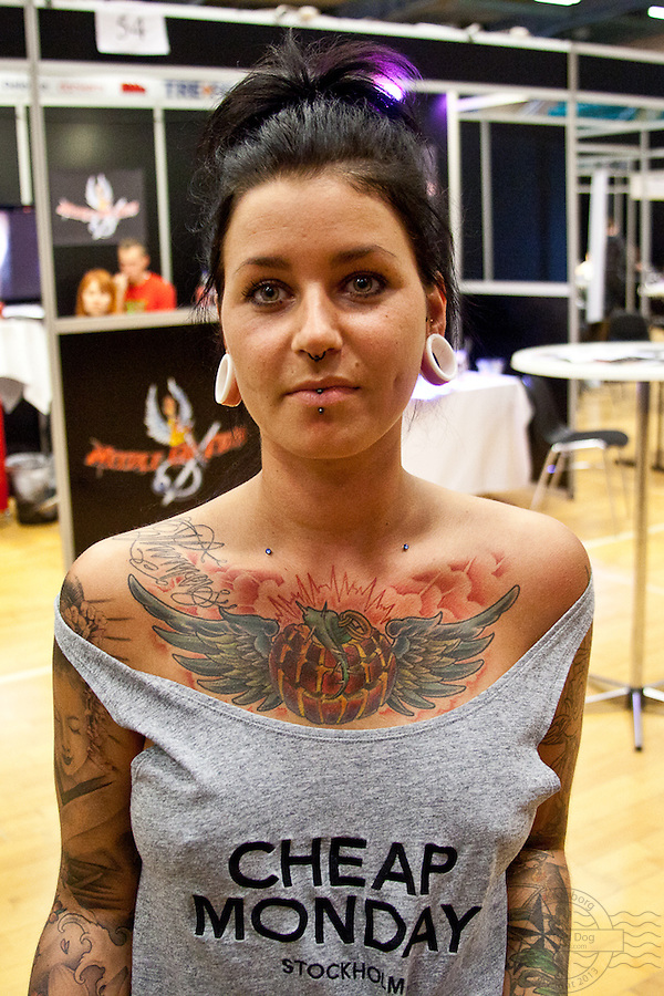 Tattoo Convention in Kolding 2011. Arranged by BodyMod.dk