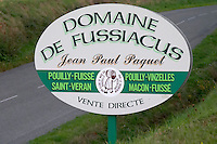 domaine fussiacus macon burgundy france
