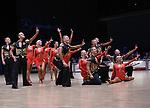 """07.12.2019,  GER; Tanzen, WDSF Weltmeisterschaft der Lateinformationen, Zwischenrunde, im Bild 1. TSZ Velbert (GER) mit dem Thema """"No limits"""" Foto © nordphoto / Witke"""