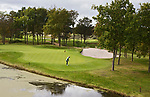 WASSENAAR  (NETH.) - Green hole 2. Golfclub Groendael in Wassenaar. COPYRIGHT KOEN SUYK