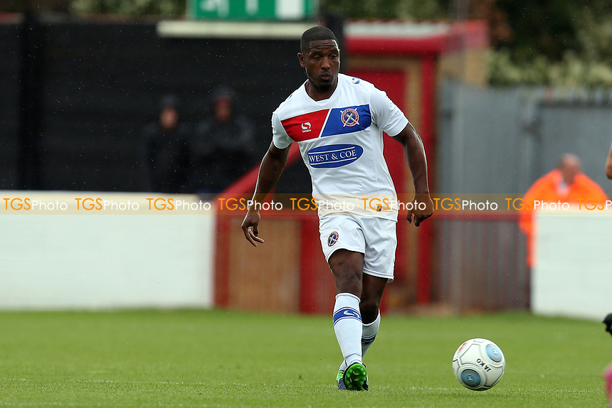 Andre Boucaud of Dagenham during Dagenham & Redbridge vs West Ham United, Friendly Match Football at the Chigwell Construction Stadium on 22nd July 2017