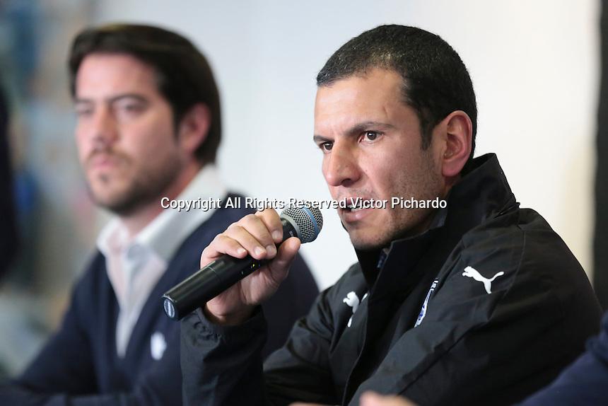 Querétaro, Qro. 1 de febrero de 2017- Este día fue presentado Jaime Lozano como director técnico del Club Querétaro, Gallos Blancos.
