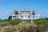 Stately homes, South Beach, Martha's Vineyard, Massachusetts, USA