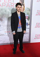 07 March 2019 - Westwood, California - Moises Arias. &quot;Five Feet Apart&quot; Los Angeles Premiere held at the Fox Bruin Theatre. <br /> CAP/ADM/BT<br /> &copy;BT/ADM/Capital Pictures