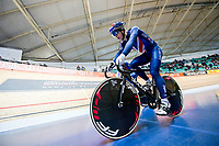 Picture by Allan McKenzie/SWpix.com - 06/01/2018 - Track Cycling - Revolution Champion Series 2017 - Round 3 - HSBC UK National Cycling Centre, Manchester, England - HSBC UK, Kalas, branding.