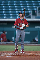 AZL Dbacks Cam Coursey (4) at bat during an Arizona League game against the AZL Cubs 2 on June 25, 2019 at Sloan Park in Mesa, Arizona. AZL Cubs 2 defeated the AZL Dbacks 4-0. (Zachary Lucy/Four Seam Images)