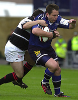 26/05/2002.Sport -Rugby Union - Parker Pen Shield Final.Sale vs Pontypridd..Charl Marius   [Mandatory Credit, Peter Spurier/ Intersport Images].