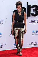 LOS ANGELES, CA - JUNE 30: Angela Bassett attends the 2013 BET Awards at Nokia Theatre L.A. Live on June 30, 2013 in Los Angeles, California. (Photo by Celebrity Monitor)