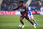 CD Leganes's Martin Braithwaite and RC Celta de Vigo's Joseph Aidoo  during La Liga match 2019/2020 round 16<br /> December 8, 2019. <br /> (ALTERPHOTOS/David Jar)
