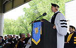 Regent Rick Trachok speaks during the 2015 Western Nevada College Commencement held at the Pony Express Pavilion in Carson City, Nev., on Monday, May 18, 2015.<br /> Photo by Tim Dunn