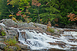 Jackson Falls in Jackson, NH, USA