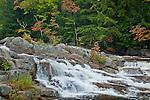 Jackson Falls in Jackson, NH, USA