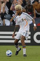 Los Angeles Galaxy defender Abel Xavier (7) during the game. DC United defeated the Los Angeles Galaxy 1-0 at RFK Stadium in Washington DC, Thursday August 9, 2007.