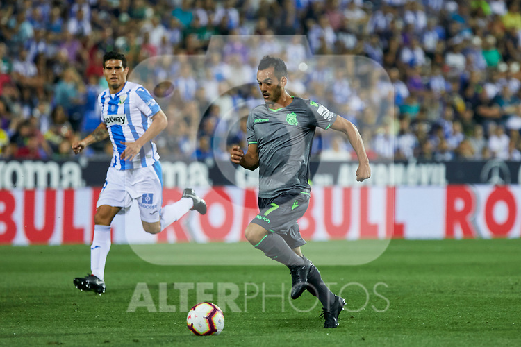 Real Sociedad's Juan Miguel Jimenez during La Liga match. August 24, 2018. (ALTERPHOTOS/A. Perez Meca)