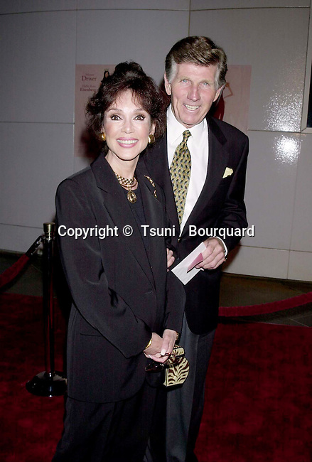 "25 Sep 2000, Los Angeles, California, USA --- Gary Collins and wife Mary Ann Mobley at the premiere of ""Beautiful"". 9/25/00-Los Angeles,CA --- "" Tsuni / Bourquard ""Gary Collins and wife Mary Ann Mobley Gary Collins and wife Mary Ann Mobley"