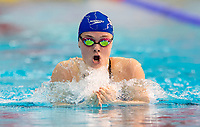 Picture by Allan McKenzie/SWpix.com - 15/12/2017 - Swimming - Swim England Winter Championships - Ponds Forge International Sports Centre, Sheffield, England - Katie Matts races in the womens open 200m breaststroke.