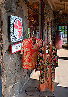 Once a general store, barber shop, butcher's, diner and post office that served the area's sugar plantation, the historic Kong Lung store and square at Kilauea, Kauai, is on the National Register of Historic Places.