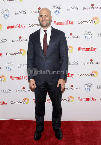 NEW YORK, NEW YORK - February 9: Sam Kass attends the 13th Annual Red Dress Awards on February 9, 2016 in New York City. Credit: John Palmer/MediaPunch