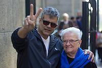 SÃO PAULO, SP, 02.07.2016 - MISSA-SP - Deputada Luiza Erundina, é vista na saída da missa celebrada nesta manhã de sábado na catedral da Sé , localizada na Praça da Sé, região central de São Paulo (SP). (Foto: Adailton Damasceno/Brazil Photo Press)