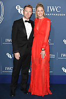 LONDON, UK. October 09, 2018: Ronana & Storm Keating arriving for the 2018 IWC Schaffhausen Gala Dinner in Honour of the BFI at the Electric Light Station, London.<br /> Picture: Steve Vas/Featureflash