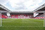 Blick ins leere Stadion, <br /> <br /> Sport: Fussball: 1. Bundesliga:: nphgm001:  Saison 19/20: 33. Spieltag: 1. FSV Mainz 05 vs SV Werder Bremen 20.06.2020<br /> Foto: Neis/Eibner/Pool/via gumzmedia/nordphoto<br /><br />DFB regulations prohibit any use of photographs as image sequences and/or quasi-video.<br />Editorial Use ONLY<br />National and International News Agencies OUT<br />  DFL REGULATIONS PROHIBIT ANY USE OF PHOTOGRAPHS AS IMAGE SEQUENCES AND OR QUASI VIDEO<br /> EDITORIAL USE ONLY<br /> NATIONAL AND INTERNATIONAL NEWS AGENCIES OUT