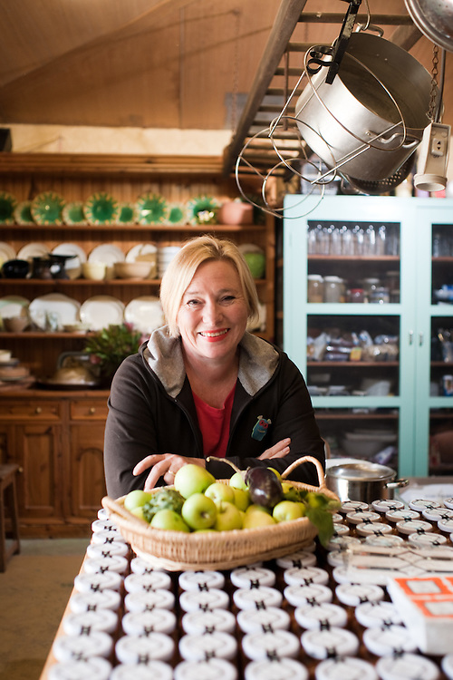 Jan Angus, culinary tourism for an article about the Regional Food Groups. Hutton Vale, Anguston.