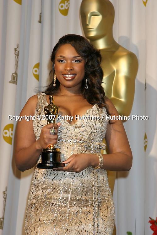 Jennifer Hudson.79th Annual Academy Awards.Kodak Theater .Hollywood & Highland.Hollywood, CA.February 25, 2007.©2007 Kathy Hutchins / Hutchins Photo....