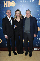 www.acepixs.com<br /> May 11, 2017  New York City<br /> <br /> Barry Levinson, Michelle Pfeiffer and Robert De Niro attend the 'The Wizard Of Lies' New York Premiere at The Museum of Modern Art on May 11, 2017 in New York City. <br /> <br /> Credit: Kristin Callahan/ACE Pictures<br /> <br /> <br /> Tel: 646 769 0430<br /> Email: info@acepixs.com
