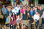 Surprise 50th Birthday party for Michael O'Connell, Tralee, celebrating with family and friends at Gally's Bar on Friday