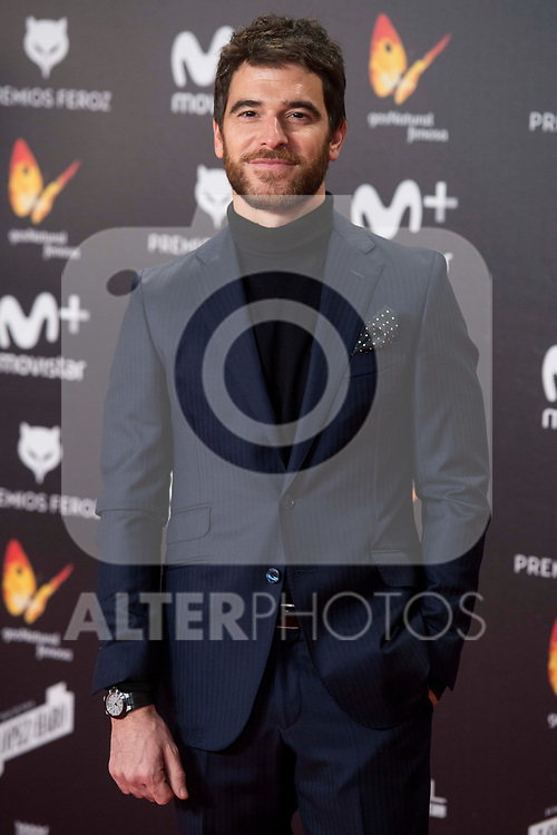 Alfonso Bassave attends red carpet of Feroz Awards 2018 at Magarinos Complex in Madrid, Spain. January 22, 2018. (ALTERPHOTOS/Borja B.Hojas)