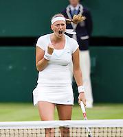 03-07-12, England, London, Tennis , Wimbledon,  Petra Kvitova