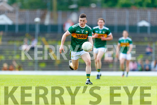Paul Murphy Kerry in action against  Clare during the Munster GAA Football Senior Championship semi-final match between Kerry and Clare at Fitzgerald Stadium in Killarney on Sunday.