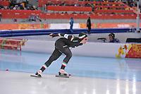 OLYMPICS: SOCHI: Adler Arena, 09-02-2014, 3000 m Ladies, Francesca Lollobrigida (ITA), ©foto Martin de Jong