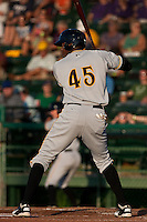 Calvin Anderson #45 of the Bradenton Marauders during a game against the Daytona Cubs at Jackie Robinson Ballpark on May 26, 2011 in Daytona Beach, Florida. (Scott Jontes / Four Seam Images)