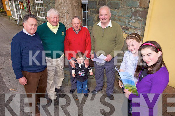 RURAL DWELLERS: Some of the organisers of the forthcoming IRDA meeting in Killorglin on April 19th, l-r: Johnny O'Reilly, John Kelly, Sean Sweeney, Cian Burke, James Doyle (National Chairperson), Erica Dowley, Amy Burke.