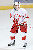 Justin Mercier - The Boston College Eagles defeated the Miami University Redhawks 5-0 in their Northeast Regional Semi-Final matchup on Friday, March 24, 2006, at the DCU Center in Worcester, MA.