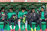 10.02.2019, Weser Stadion, Bremen, GER, 1.FBL, Werder Bremen vs FC Augsburg, <br /> <br /> DFL REGULATIONS PROHIBIT ANY USE OF PHOTOGRAPHS AS IMAGE SEQUENCES AND/OR QUASI-VIDEO.<br /> <br />  im Bild<br /> <br />  auf der Ersatzbank v.li<br /> Nuri Sahin (Werder Bremen #17)<br /> Marco Friedl (Werder Bremen #32)<br /> Milos Veljkovic (Werder Bremen #13)<br /> Kevin Möhwald / Moehwald (Werder Bremen #06)<br /> Claudio Pizarro (Werder Bremen #04)<br /> <br /> Foto © nordphoto / Kokenge