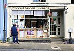 Woodbridge Violins shop on Market Hill, Woodbridge, Suffolk, England, UK