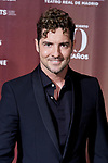 David Bisbal during the David Bisbal 40th Birth Day concert photocall at Teatro Real in Madrid, Spain. June 05, 2019. (ALTERPHOTOS/A. Perez Meca)