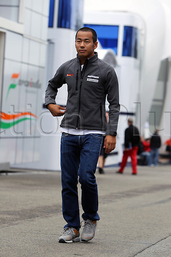 26.08.2010 Francorchamps, Belgium - Sakon Yamamoto (JPN), Hispania Racing F1 Team HRT - Portrait - Formula1 World Championship Round 13 - Grand Prix of Belgium at Spa-Francorchamps Circuit