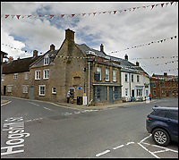 BNPS.co.uk (01202 558833)<br /> Pic: LGoogle<br /> <br /> Before the raid<br /> <br /> Epic Fail...<br /> <br /> Inept ram raiders have demolished half the wall of a furniture showroom in the sleepy Dorset town of Beaminster last night.<br /> <br /> The cash machine is still to be leived to be in the rubble and the theives were forced to abandon the tractor used in the raid.