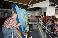 Europe/France/Bretagne/29/Finistère/ Le Guilvinec: Classe scolaire visitant Haliotika - La Cité de la Pêche