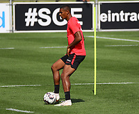 Sebastien Haller (Eintracht Frankfurt) - 21.08.2018: Eintracht Frankfurt Training, Commerzbank Arena, DISCLAIMER: <br /> DFL regulations prohibit any use of photographs as image sequences and/or quasi-video.