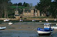 Europe/France/Bretagne/22/Côtes d'Armor/Env de Plestin-Les-Grèves: Le port de Toul-An-Héry et le manoir du capitaine des douanes Jacob