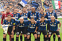 "Inter team group line-up, OCTOBER 23, 2011 - Football / Soccer : Italian ""Serie A"" match between Inter Milan 1-0 Chievo at Stadio Giuseppe Meazza in Milan, Italy. (Photo by Enrico Calderoni/AFLO SPORT) [0391]"