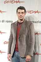 """LUCA ARGENTERO.attends a photocall to promote the movie """"A Casa Nostra"""" on the eighth day of Rome Film Festival (Festa Internazionale di Roma) in Rome, Italy, October 20th 2006..half length .Ref: CAV.www.capitalpictures.com.sales@capitalpictures.com.©Luca Cavallari/Capital Pictures."""