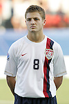 06 July 2007: USA's Robbie Rogers. The Under-20 Men's National Team of the United States defeated Brazil's Under-20 Men's National Team 2-1 in a Group D opening round match at Frank Clair Stadium in Ottawa, Ontario, Canada during the FIFA U-20 World Cup Canada 2007 tournament.