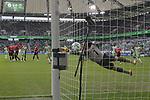 09.09.2017, Volkswagen Arena, Wolfsburg, GER, 1.FBL, VfL Wolfsburg vs Hannover 96 im Bild <br /> <br />  1:0 Freisto&szlig;tor durch)DANIEL DIDAVI 14 gegen Han96 TW Philipp Tschauner 1<br /> <br /> Foto &copy; nordphoto / Rust