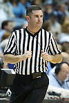 16 February 2013: Referee Tim Kelly. The University of North Carolina Tar Heels played the University of Virginia Cavaliers at the Dean E. Smith Center in Chapel Hill, North Carolina in a 2012-2013 NCAA Division I and Atlantic Coast Conference men's college basketball game. UNC won the game 93-81.