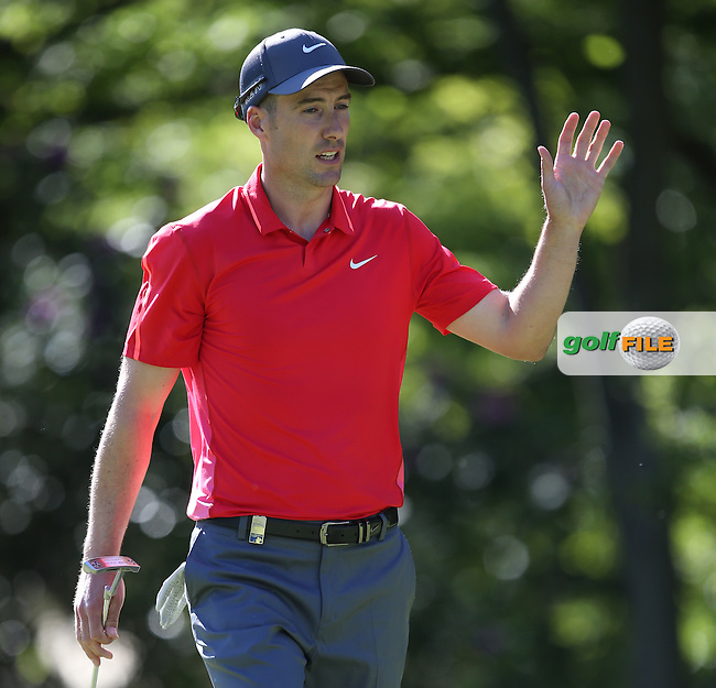 Ross FISHER (ENG) during Round One of the 2015 BMW PGA Championship over the West Course at Wentworth, Virginia Water, London. 21/05/2015Picture David Lloyd, www.golffile.ie.
